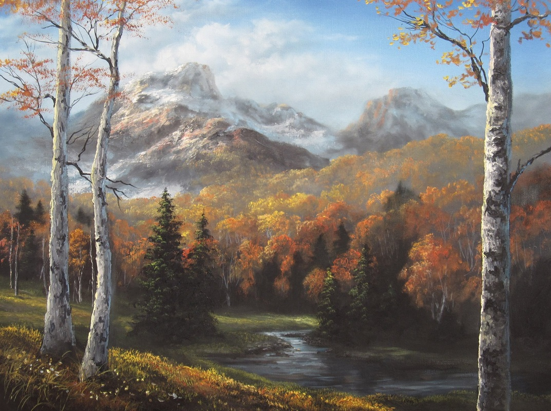 Kevin Hill mountain autumn