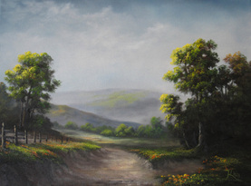 kevin hill oil painting