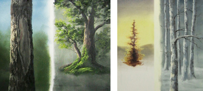 Kevin Hill tree painting
