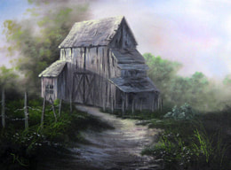 kevin hill painting in oils